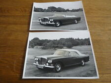 BENTLEY CONTINENTAL S3 ORIGINAL PRESS PHOTOS X 2