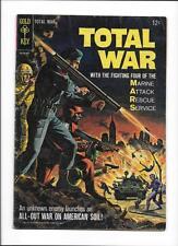TOTAL WAR #1 [1965 GD-VG] GREAT BATTLE COVER!