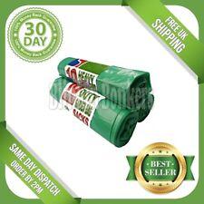 30 STRONG LARGE BIG LONG HEAVY DUTY GREEN GARDEN WASTE SACKS RUBBISH BIN BAGS