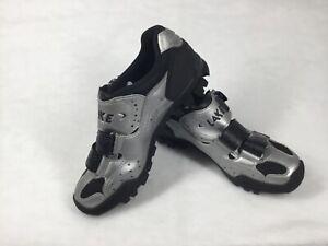 LAKE MX190-W Women's Cycling Shoes Size EU 38.5 US 7 WIDE w/ Vibram Sole MTB