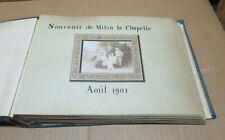 MILON LA CHAPELLE et environs (78) ancien album de photographies familiales