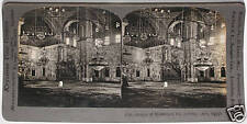 Keystone Stereoview Mosque of Mohammed Ali,Cairo, EGYPT from a 1900s 72 Card Set