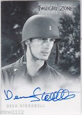 TWILIGHT ZONE SERIES 3 SHADOWS & SUBSTANCE A39 DEAN STOCKWELL AUTOGRAPH