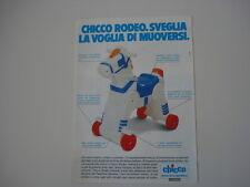 advertising Pubblicità 1986 CHICCO RODEO