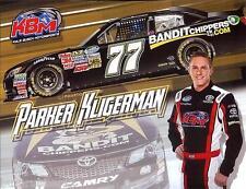 """2013 PARKER KLIGERMAN """"BANDIT CHIPPERS #77 NASCAR NATIONWIDE SERIES POSTCARD"""