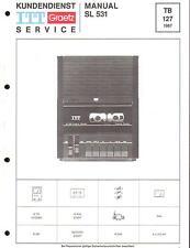 ITT/Graetz Original Service Manual für SL 531