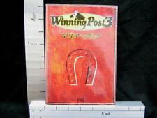 WINNING POST 3 Master Book Guide Book KE