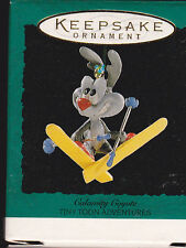 1995 Hallmark Calamity Coyote Tiny Toons Adventures Miniature Ornament NIB NEW