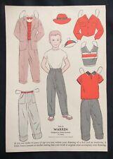 1954, Warren Mag. Paper Dolls, Wee Wisdom Mag.,Dorothy Wagstaff Artist
