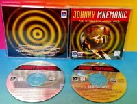 JOHNNY MNEMONIC THE INTERACTIVE ACTION MOVIE  - PC Game Tested - Mint Disc Rare