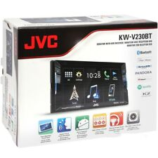"JVC KWV230BT 2-DIN 6.2"" Bluetooth In-Dash DVD/CD/AM/FM Car Stereo  BRAND NEW"