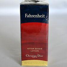 VTG NIB Christian Dior Fahrenheit 1.7 oz After Shave Lotion Men's Aftershave FR