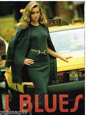 Publicité Advertising 1992 Pret à porter vetements I Blues