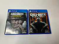 Call of Duty: Black Ops III & WWII PS4 Smoke Free Home