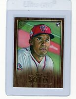"2018 Topps Gallery Canvas #126 ""Juan Soto"" @@LOOK@@ Mint++ RC ""On Fire""* *Read*"