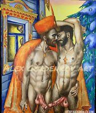 homoart gay male nude man gayerotica homoerotic gayart naked queer art nudity