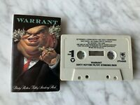 Warrant Dirty Rotten Filthy Stinking Rich CASSETTE Tape 1989 Columbia FCT 44383