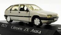Solido 1/43 Scale Diecast Model Car 1523 - Citroen ZX Aura - Metallic Grey
