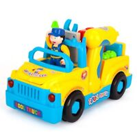 Early Education Baby Toy Tool Truck with Music/Electric Drill/Small Parts Kids