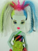 MONSTER HIGH DOLL ELECTRIFIED HIGH VOLTAGE FRANKIE STEIN DOLL WORKS!