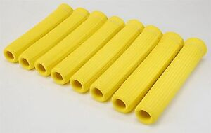 """LS1 LS2 LS7 Spark Plug Wire Boot Protector Heat Sleeve 6"""" YELLOW 1200 Degrees"""