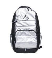 0c628a75bc Nike Air Jordan All World Backpack Metallic Silver 9a1640 250 Laptop Bag