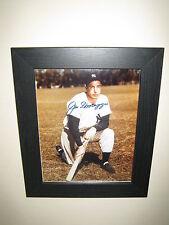 Joe Di Maggio -The Yankee Clipper {New York Yankees} Signed Photo (8x10) Framed