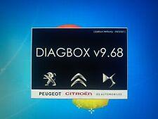 DIAGBOX v9.68 - Lexia 3 - Multiple Languages - Virtual Machine - Citroén Peuget