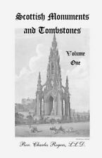 Scottish Monuments and Tombstones, Volume 1, LL.D., Charles 9780788406843 New,,