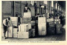 Weihnachtsgeschenke für unsere Krieger in DSW- Afrika Hamburg Bilddokument 1905