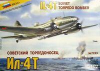 Zvezda 1/72 Ilyushin IL-4T torpedo bomber unmade complete kit sealed bag