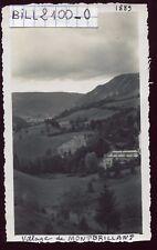 Montbrillant  ( Jura) le village  . photo ancienne . 1948