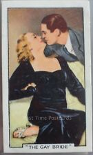 Single: No.8 THE GAY BRIDE - FAMOUS FILM SCENCE Gallaher Ltd 1935
