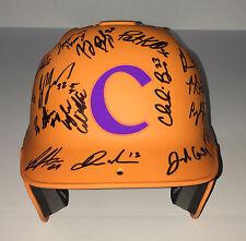 CLEMSON TIGERS TEAM Signed Autographed Baseball Batting Helmet! SETH BEER+