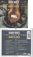 CD--BARRY WHITE--BARRY'S GOLD