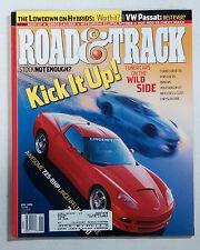 ROAD & TRACK CAR MAGAZINE 2006 MAY CORVETTE LINGENFELTER PORSCHE 911 TURBO
