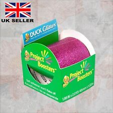 Duck Glitter Self-Adhesive Crafting Tape - Purple. Great For Projects & Crafting