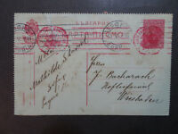 Bulgaria 1916 Reply Card Sent to Germany / Light Creasing - Z8345