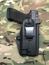 Black Kydex IWB Holster for Glock 34 35 RMR Cut Streamlight TLR-1 /TLR-1HL