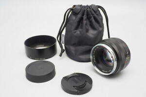 Zeiss Planar 50mm f/1.4 f1.4 ZE  T* Lens for Canon EF Mount