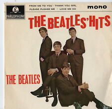 """The Beatles Hits - 7"""" Ep 1963 First Pressing"""