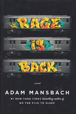 Rage Is Back by Adam Mansbach 2013 Hardcover Book