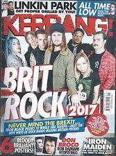 KERRANG! #1671 May 20 2017: LINKIN PARK Chester Bennington DON BROCO Iron Maiden