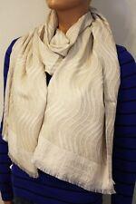 ARMANI COLLEZIONI Tuch Schal 45x180 cm Wolle/Seide beige NEU