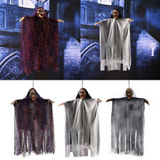 SCARY Animated Gory Ghost Halloween Prop Haunted House Decoration Glowing+Sound