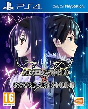 Accel World VS Sword Art Online [PlayStation 4, PS4, Action RPG, Anime] NEW