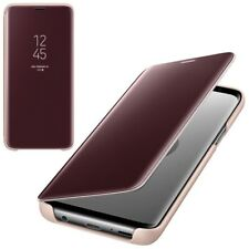 CUSTODIA Samsung s9 CLEAR view Cover Guscio EF-ZG960CFEGWW per Galaxy s9 GOLD