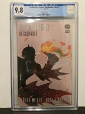 CGC 9.8 Dark Knight Returns: The Golden Child #1 2020, Grampa Variant Cover