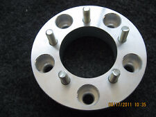 """5x135 to 5x150 US Made Wheel Adapters 1.5"""" Thick 14x1.5 Studs Spacers x 2 Rims"""