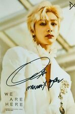 hand signed MONSTA X Hyungwon 형원 亨元 autographed photo WE ARE HERE 5*7 032019B